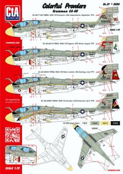 CTA 1/72 Colorful Prowlers (Grumman EA-6B)