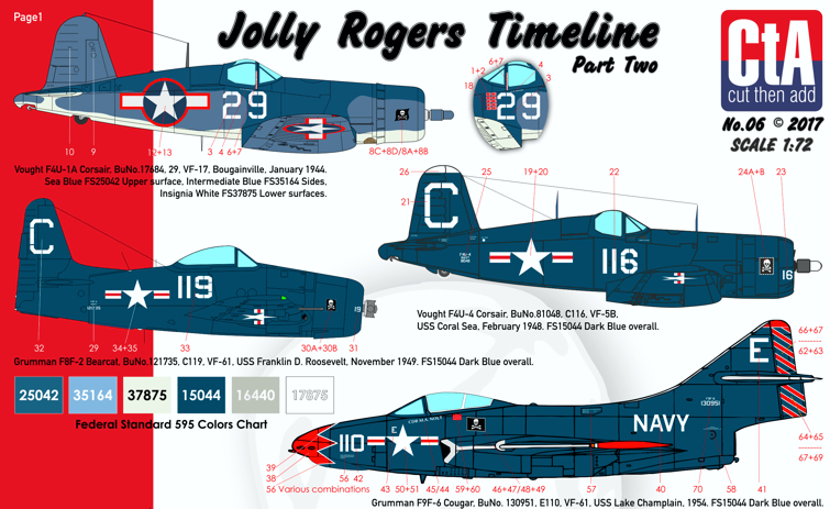 "CTA-006 1/72 ""Jolly Rogers Timeline"" Part Two"