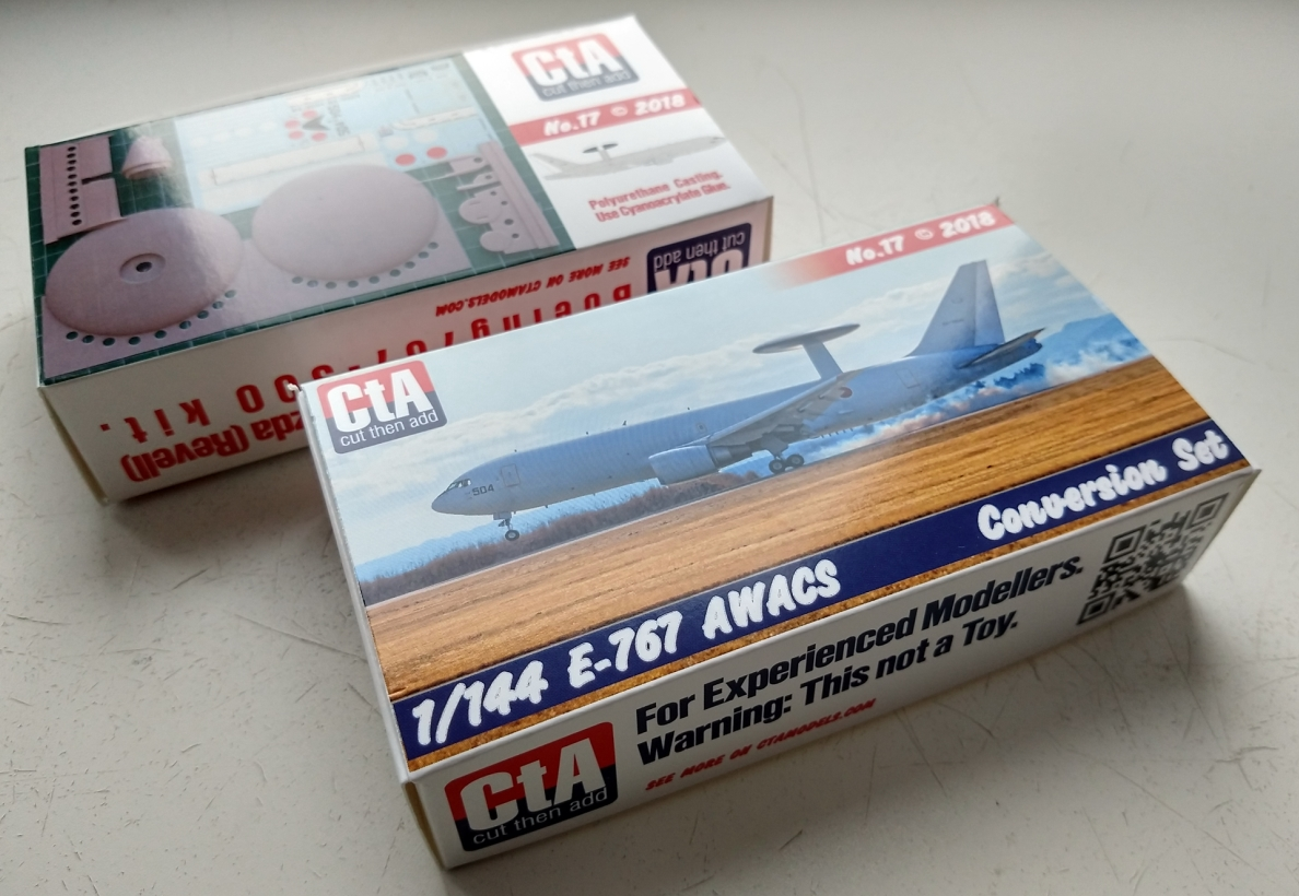 CTA 1/144 Boeing E-767 conversion set