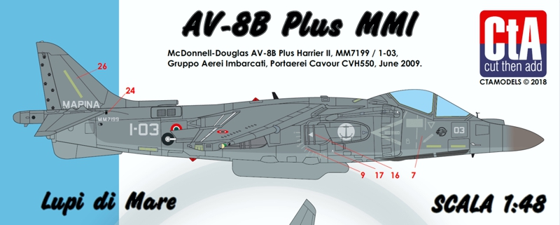 CTA 1/48 'Lupi di Mare' decal