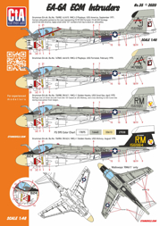 CTA 1/48 EA-6A ECM Intruders